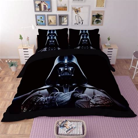 darth vader bedding star wars bedding set gograbbo