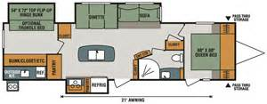 spree rv floor plans spree s333bhk luxury lightweight travel trailer k z rv