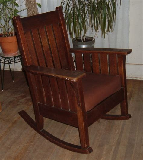 Style Rocking Chair - mission rocking chair collectors weekly