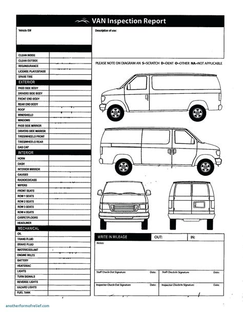 vehicle templates vehicle damage report vehicle ideas