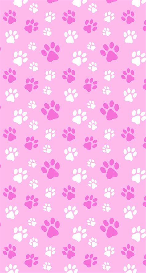 puppy kitten pets paws pink papers imprimibles