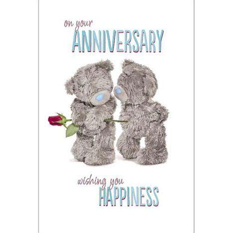 Tatty Teddy Anniversary Cards