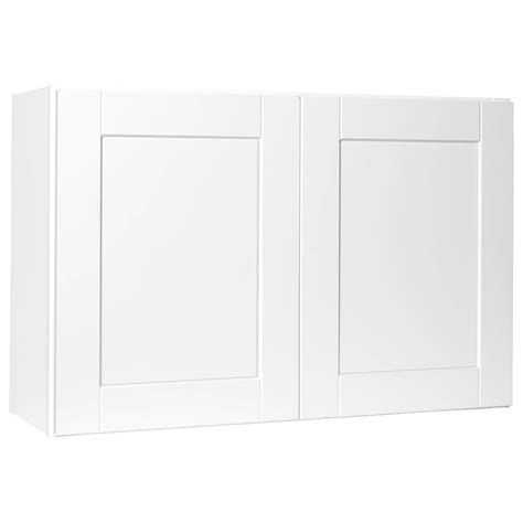 over refrigerator cabinet home depot hton bay shaker assembled 36x24x24 in above