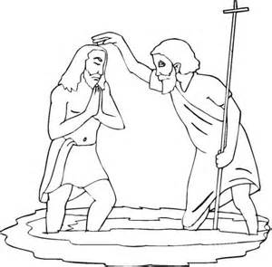 Epiphany Colouring Page Coloring Pages The Baptist