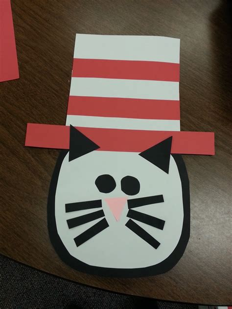 cat in the hat crafts for 49 best dr seuss day images on dr suess dr