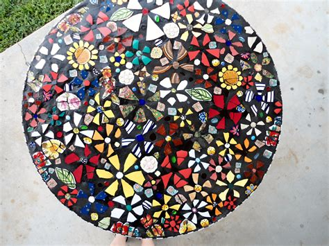 glass mosaic pattern maker mosaic table top miscellaneous mosaic pinterest