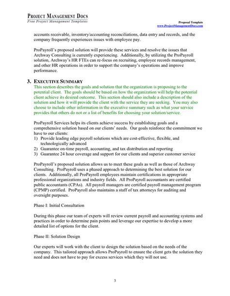 project management template in word and pdf