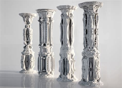 Room Building Software michael hansmeyer ornamented columns