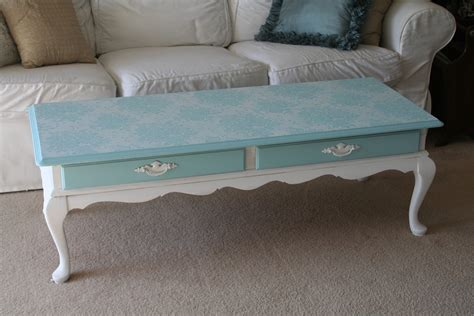 Chalk Painted Coffee Tables For The Of White Chalk Paint Coffee Table Project