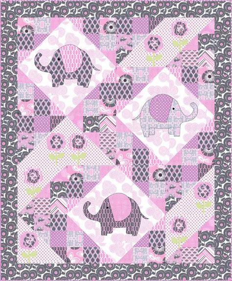 fabric elephant pattern free free pattern elephant pop quilt including elephant