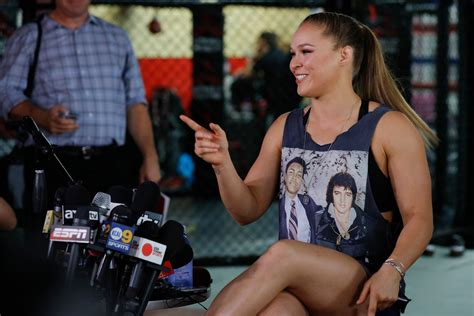ufc 193 ronda rousey media day scrum youtube