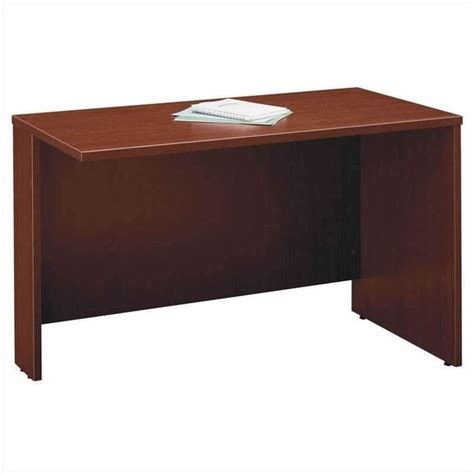 C Shaped Desk Bush Business Series C Mahogany Right L Shaped Desk Bsc002 367