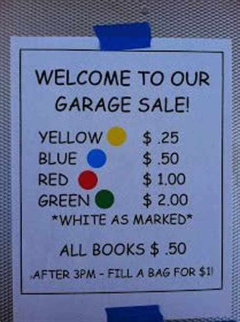 Best Way To Organize A Garage Sale by 17 Best Ideas About Rummage Sale On Yard Sale