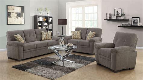 fairbairn oatmeal living room set 506581 82 coaster