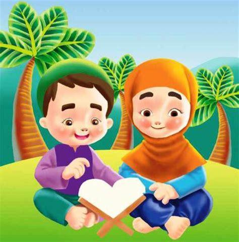 gambar kartun anak muslim gambar doa animasi puasa tattoo design bild