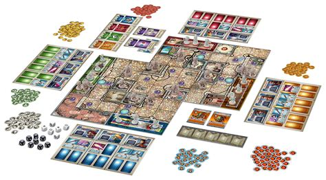 Arcadia Quest Characters Aeric arcadia quest an adventure boardgame by coolminiornot