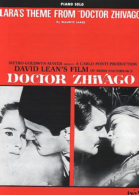theme song dr zhivago lara s theme from quot dr zhivago quot sheet music by maurice