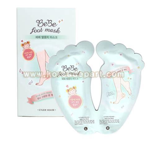 Harga Etude House Bebe Foot Mask etude house bebe foot mask