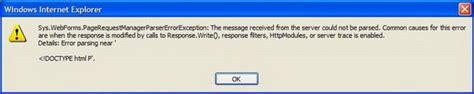 repository pattern error handling asp net make update panel opaque