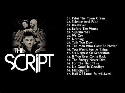 the script song the script the best of greatest hits as melhores