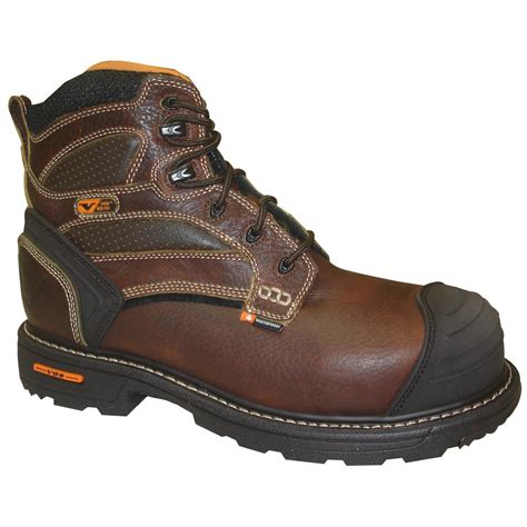 s thorogood 174 6 quot waterproof composite toe boots brown