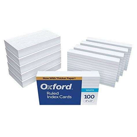 Mead Ruled Index Cards Template by Galleon Oxford Ruled Index Cards 3 Quot X 5 Quot White 1 000