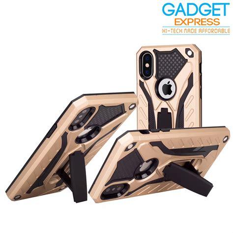 Gadgetpluss Hardcase Armor Prisma iphone 8 plus 7 plus rugged armor kick stand cover free glass