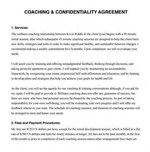 coaching contract template 9 download free documents in pdf