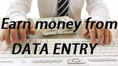 Online Make Money With Data Entry - how to earn money from data entry in home trick trick