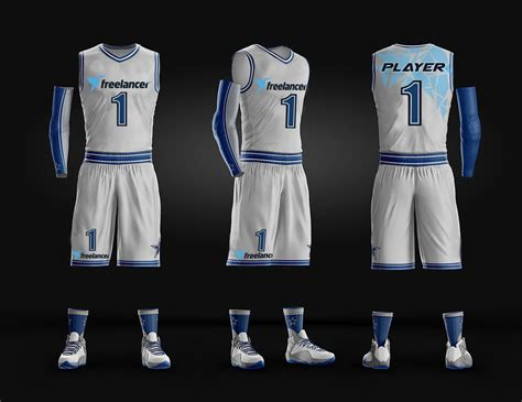 jersey design basketball blue and white entry 68 by joselgarciaf1 for design basketball jersey