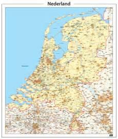 kaart nederland 338 www kaartenenatlassen nl maps of