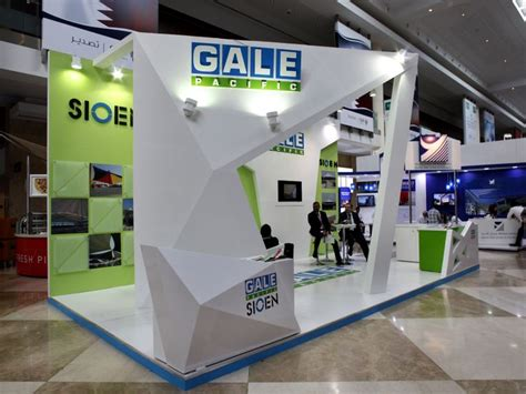 booth design dubai gale pacific exhibition stand designed and produced by