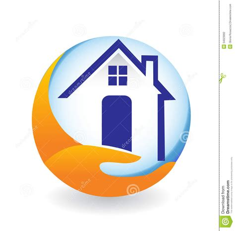 house logos house logo stock photography image 34023992