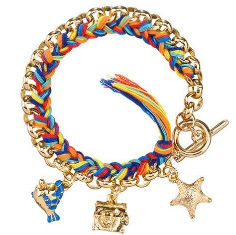 disney couture the mermaid toggle charm bracelet