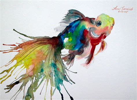 watercolor tattoos fish 1000 images about watercolour animal based on