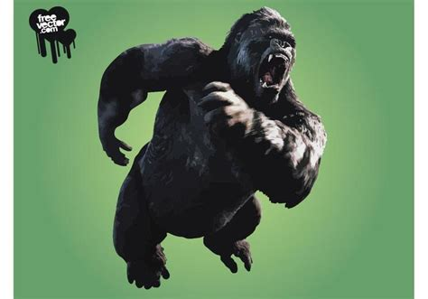 imagenes graciosas de king kong angry king kong download free vector art stock graphics