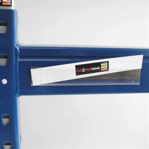 Magnetic Shelf Label Holders plastic magnetic label holders 26mm x 200mm rack shelf
