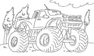 monster jam free coloring pages