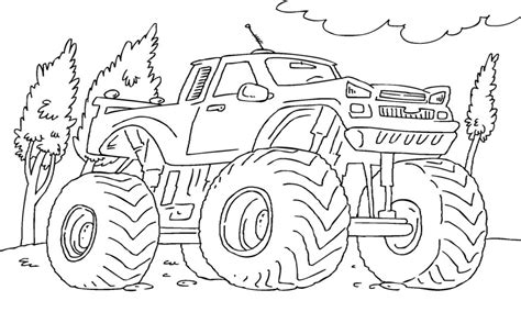 bigfoot monster truck coloring pages bigfoot monster truck coloring pages coloringsuite com