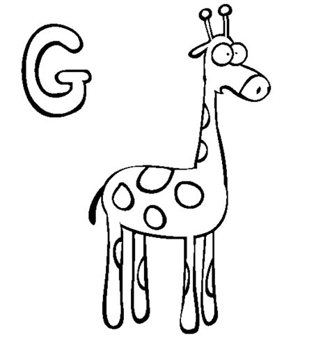 letter g giraffe coloring page top 11 free printable giraffe coloring pages for kids