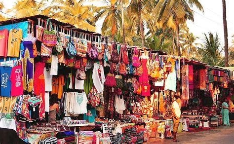 where to visit in goa for shopping top 7 markets goa