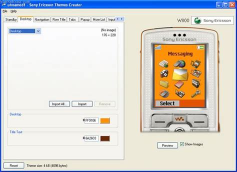 theme maker windows xp c 243 mo crear temas para un tel 233 fono sony ericsson