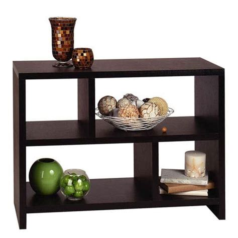 Sofa Table Bookshelf by Convenience Concepts Northfield Black 38 Inch Bookcase