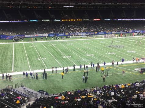 section 11 football superdome section 340 new orleans saints rateyourseats com
