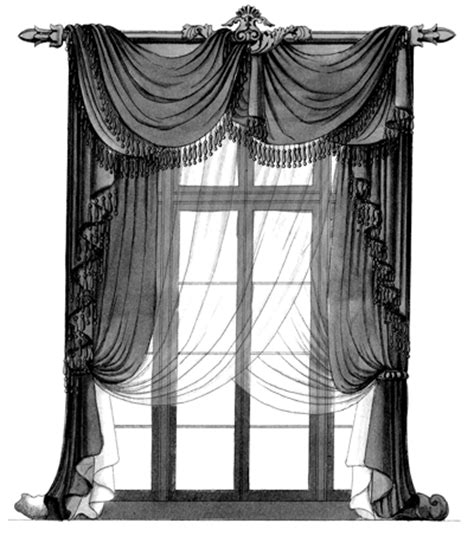 draped curtain ideas fabrics and canvas the regency town house