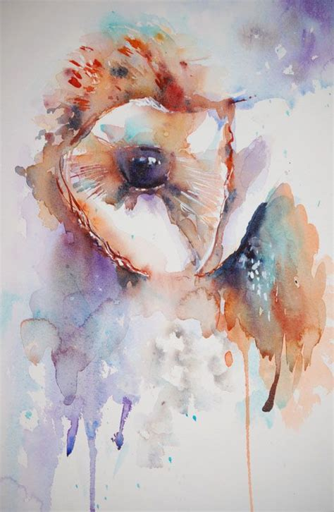 watercolor owl tutorial 119 best images about owl drawings on pinterest