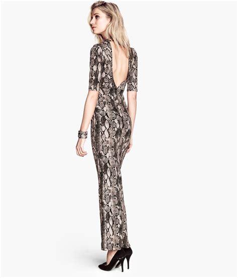 Hm Dress h m sleeveless dress lyst