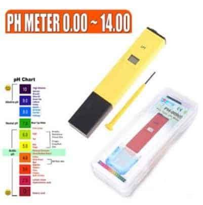 Ph Hidroponik By Bb Seed jual ph meter air digital atc ph 009 bubuk kalibrasi