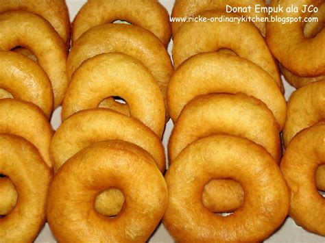 resep membuat donat jco just my ordinary kitchen donat empuk ala j co