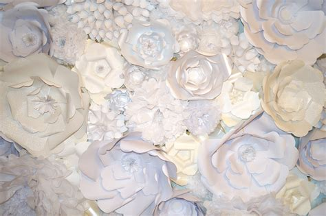 How To Make Paper Wall Flowers - 187 mademoiselle meme s paper flower wall